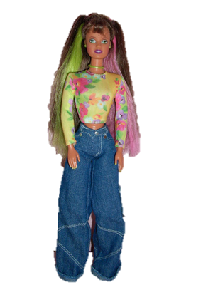 thrift barbie