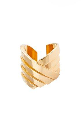 Susan Gold-Plated Ring By Leda Madera | Moda Operandi