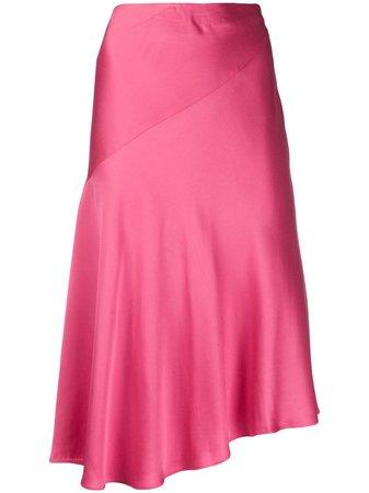Helmut Lang Asymmetric Slip Skirt - Farfetch