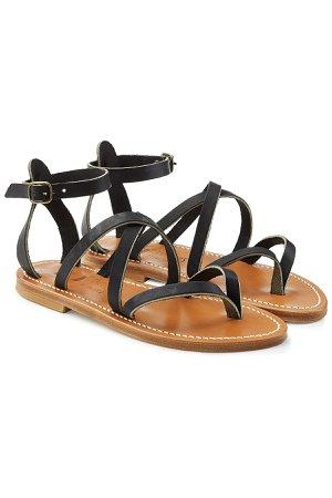 Epicure Leather Gladiator Sandals Gr. IT 37