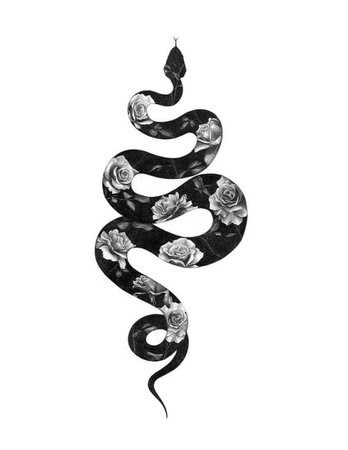 snake witch roses occult