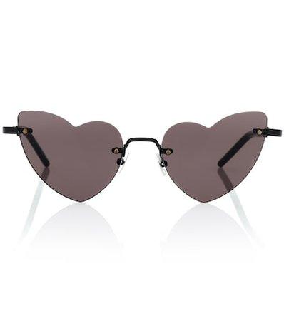 New Wave Lou Lou 254 heart-frame sunglasses