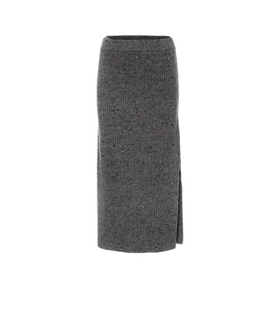 Altuzarra - High-rise wool-blend skirt | Mytheresa