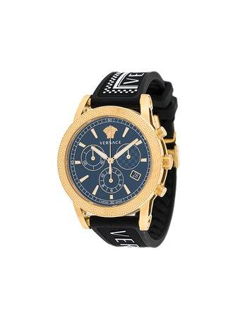 Versace Sport Tech 40mm Watch - Farfetch