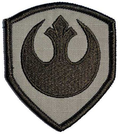 Rebel Alliance Emblem Star Wars 3x2.5 Shield Military Patch / Morale Patch (D... - Sewing