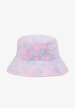 Vintage Supply BUCKET HAT - Hatt - pink/blue/white - Zalando.se