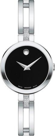 Esperanza Diamond Bangle Watch, 25mm