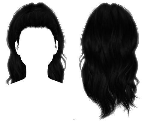 ponytail hair edit
