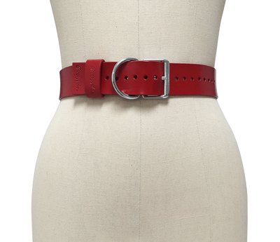 Signature Belt ( Red + Silver )
