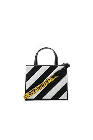 Diagonal Box Bag