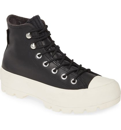 Converse Chuck Taylor® All Star® Gore-Tex® Waterproof Lugged High Top Sneaker (Women) | Nordstrom