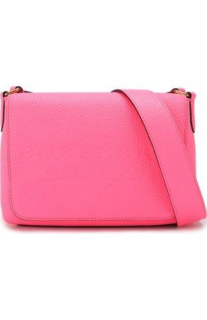 Женская сумка burleigh BURBERRY розовая цвета — купить за 56650 руб. в интернет-магазине ЦУМ, арт. 4065881