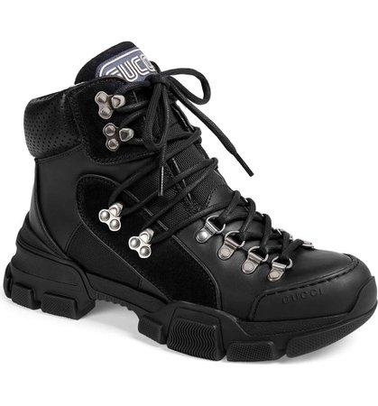 gucci-black-journey-flashtrek-high-top-lace-up-tie-hiker-trainer-sneaker-bootsbooties-size-eu-365-ap-0-0-960-960.jpg (893×960)