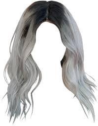 silver white hair png - Google Search