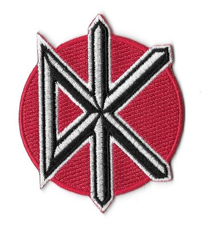 Dead Kennedys Icon Embroidered Patch / Iron On Applique | Etsy