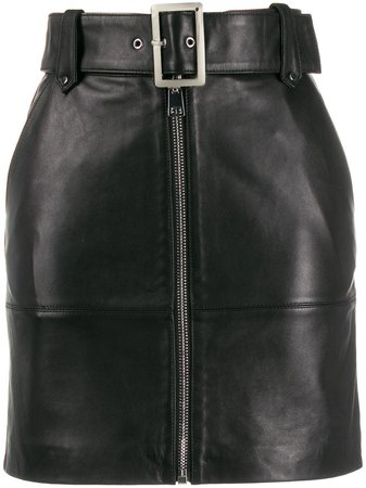 Shop black Pinko high-waisted skirt with Express Delivery - Farfetch