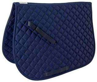 Amazon.com : Dover Saddlery Quilted All-Purpose Saddle Pad, Burgundy : Sports & Outdoors