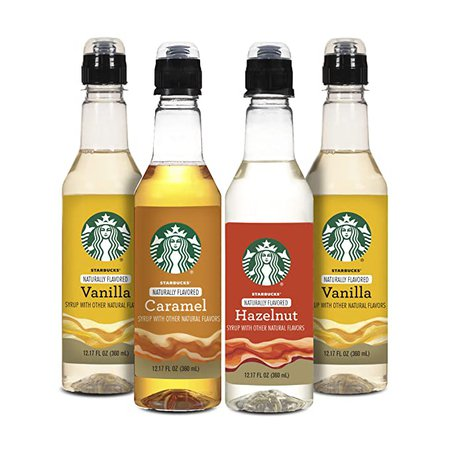 Starbucks Naturally Flavored Coffee Syrup Variety Pack: Amazon.com: Grocery & Gourmet Food