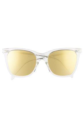 CELINE 55mm Cat Eye Sunglasses | Nordstrom