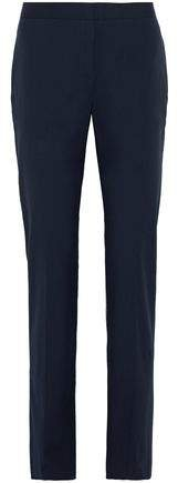 Stretch-cotton Poplin Straight-leg Pants