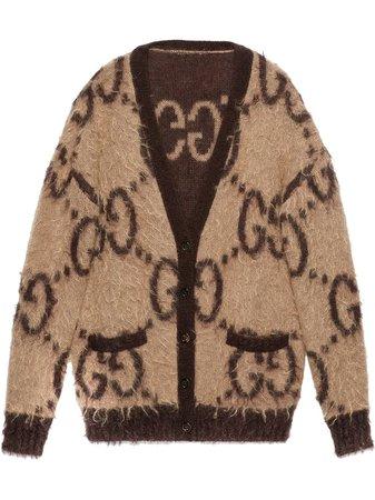 Gucci Cardigan à Design Réversible - Farfetch