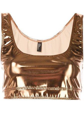 Lisa Marie Fernandez Metallic Vest - Farfetch