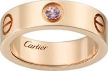 CRB4064400 - LOVE ring, pink sapphires - Pink gold, sapphire - Cartier