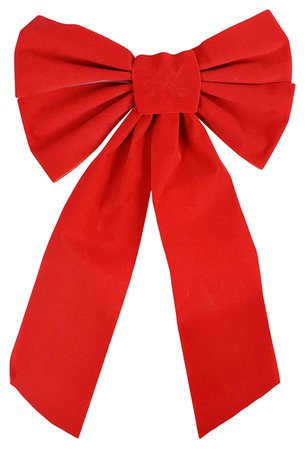 Red Christmas Bow 1