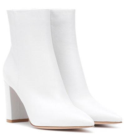 Piper 85 leather ankle boots