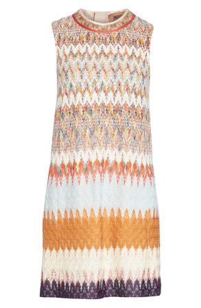 Missoni Knit Sleeveless Minidress | Nordstrom