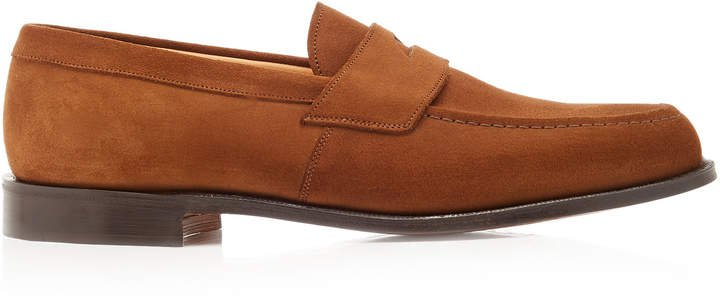 Dawley Suede Penny Loafers