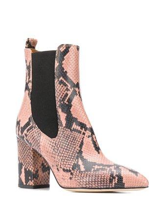 Paris Texas python effect boots
