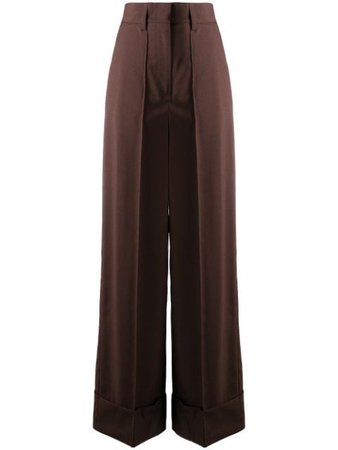 MSGM wide-leg Tailored Trousers - Farfetch