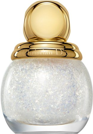 Golden Nights Diorific Vernis Top Coat Glitter Nail Lacquer