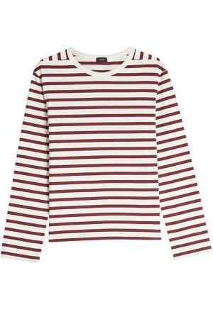 Striped Cotton Top Gr. XS