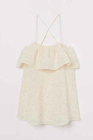 A-line Dress - White