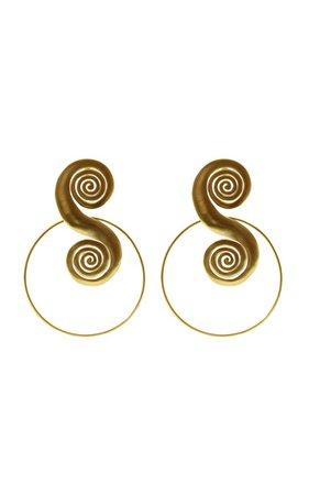 Tolu 24k Gold-Plated Earrings By Cano | Moda Operandi