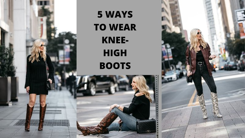 knee high boots style - Google Search