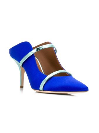 Malone Souliers Maureen satin mules $563 - Buy AW19 Online - Fast Global Delivery, Price