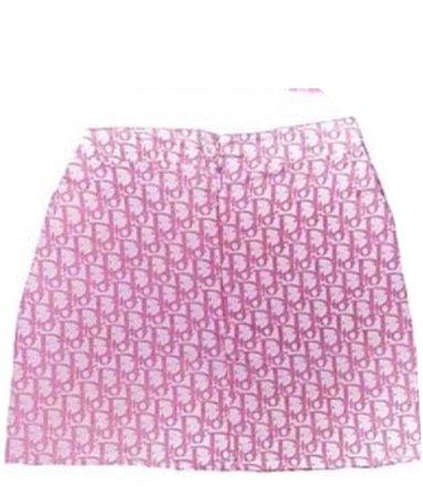 pink dior skirt