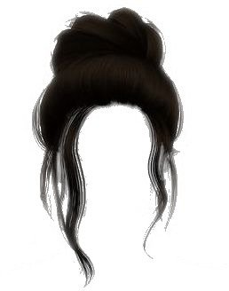hair bun edit