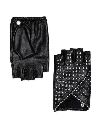 Karl Lagerfeld K/Studded Glove - Gloves - Women Karl Lagerfeld Gloves online on YOOX United States - 46686425HP