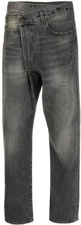 Asymmetric Boyfriend Jeans