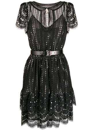 Michael Michael Kors Embroidered Lace Dress | Farfetch.com