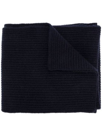 Blue N.Peal chunky ribbed scarf - Farfetch