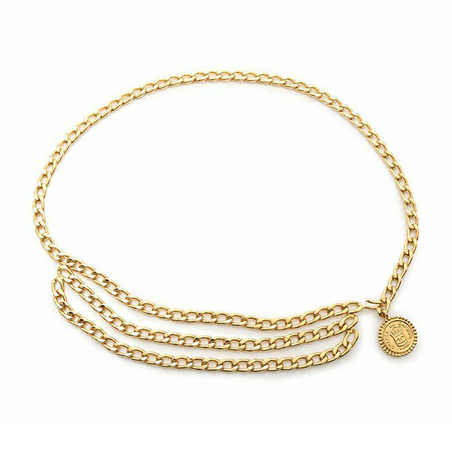 belt chain gold - Google Search