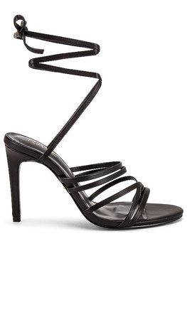 RAYE Temple Heel in Black | REVOLVE