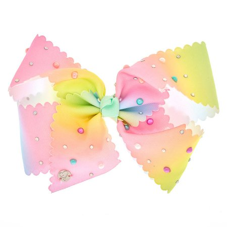 JoJo Siwa™ Large Bright and Bubbly Hair Bow | Claire's US