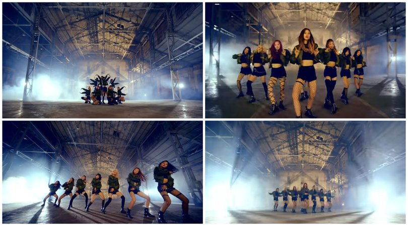 Wanna Be (Bad Girls) MV Dance Scene 1