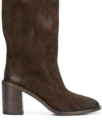 Shop brown Marsèll ankle boots with Express Delivery - Farfetch
